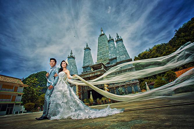 Prewedding สวยๆ ถ่ายภาพแต่งงาน รูปพรีเวดดิ้ง แพ็คเกจเช่าชุดแต่งงาน วิวาห์ ไทย เจ้าสาว ช่างภาพแต่งงานมืออาชีพ เจียสตูดิโอ หาดใหญ่ ราคาถูก Hatyai-สงขลา-14