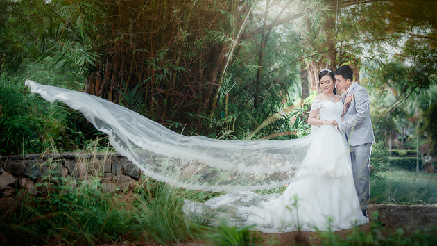 Prewedding สวยๆ ถ่ายภาพแต่งงาน รูปพรีเวดดิ้ง แพ็คเกจชุดแต่งงาน วิวาห์ ไทย เจ้าสาว ช่างภาพแต่งงานมืออาชีพ เจียสตูดิโอ หาดใหญ่ ราคาถูก Hatyai-stuidoo-3