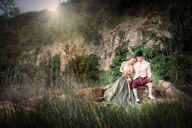 Prewedding สวยๆ ถ่ายภาพแต่งงาน รูปพรีเวดดิ้ง แพ็คเกจชุดแต่งงาน วิวาห์ ไทย เจ้าสาว ช่างภาพแต่งงานมืออาชีพ เจียสตูดิโอ หาดใหญ่ ราคาถูก Hatyai-stuidoo-5
