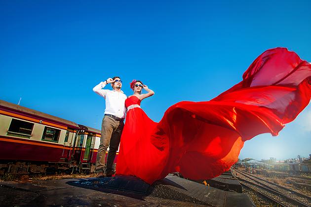 Prewedding สวยๆ ถ่ายภาพแต่งงาน รูปพรีเวดดิ้ง แพ็คเกจชุดแต่งงาน วิวาห์ ไทย เจ้าสาว ช่างภาพแต่งงานมืออาชีพ เจียสตูดิโอ หาดใหญ่ ราคาถูก Hatyai-stuidoo-14