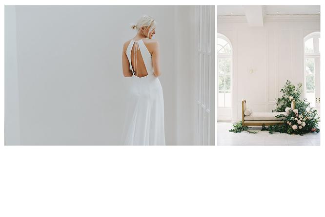 [ เจียหาดใหญ่ ] มินิมอล ขาวเรียบ เช่าชุดเจ้าสาว เพื่อนเจ้าสาว Minimal Dress Rental Hatyai-4