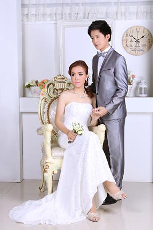 Prewedding ถ่ายพรีเวดดิ้ง สตูดิโอ คลาสสิค หาดใหญ่ ถ่ายภาพแต่งงาน แพ็คเกจเช่าชุด แต่งงาน วิวาห์ ไทย เจ้าสาว ช่างภาพงานแต่ง เจีย Hatyai-2