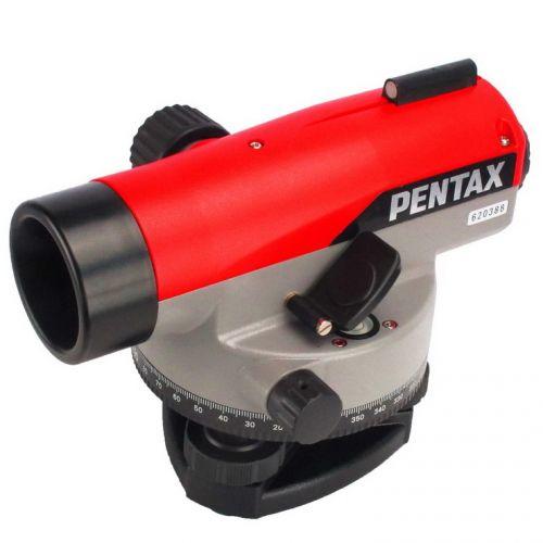 กล้องระดับขนาดกำลังขยาย 30 เท่า ยี่ห้อ PENTAX รุ่น AP-230  ผลิตภัณฑ์ประเทศญี่ปุ่น  1. เป็นกล้องชนิดอัตโนมัติพร้อมขาตั้ง 2. กล้องเล็งเป็นระบบเห็นภาพตั้งตรงตามธรรมชาติ 3. มีกำลังขยายไม่น้อยกว่า 30 เท่า 4. ขนาดเส้นผ่าศูนย์กลางของเลนส์ปากกล้องไม่น้อยกว่า 30 มิลลิเมตร  5. ขนาดความกว้างของภาพที่เห็นในระยะ 100 เมตร ไม่น้อยกว่า 2.3 เมตร หรือ 1 องศา 20 ลิปดา  6. ระยะมองเห็นภาพชัดใกล้สุด ไม่เกิน 0.3 เมตร 7. ค่าตัวคูณคงที่ 100 8. มีระบบอัตโนมัติโดยใช้ COMPENSATOR ที่มีช่วงการทำงานของระบบอัตโนมัติ ไม่น้อยกว่า ± 15 ลิปดา  9. ความละเอียดในการทำระดับ ในระยะ 1 กม.ไม่เกิน ± 1.5 มิลลิเมตร 10. ความไวของระดับน้ำฟองกลมไม่เกินกว่า 8 ลิปดา ต่อ 2 มิลลิเมตร หรือไวกว่า 11. มีจานองศาอ่านมุมราบ 360 องศา มีขีดกำกับทุกๆ 1 องศา 12. ขนาดเส้นผ่าศูนย์กลางของจานองศาไม่น้อยกว่า 108 มิลลิเมตร 13. อ่านค่ามุมโดยประมาณไม่เกิน 6 ลิปดา 14. อ่านค่ามุมโดยตรงไม่เกิน 1 องศา 15. ป้องกันน้ำและฝุ่นได้ตามมาตรฐาน IP55 16. ต้องได้รับประกาศนียบัตร ISO 9001