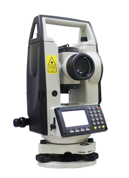 กล้องวัดมุมอิเล็กทรอนิกส์ ชนิดอ่านค่ามุมละเอียด 5 ฟิลิปดา ยี่ห้อ NIKON รุ่น NE-101     ผลิตภัณฑ์ประเทศญี่ปุ่น     1. กล้องเล็งเป็นระบบเห็นภาพตั้งตรง 2. กำลังขยาย 30  เท่า 3. ขนาดเส้นผ่าศูนย์กลางเลนส์ปากกล้อง 45  มม. 4. ขนาดความกว้างของภาพที่เห็นในระยะ  100 เมตร ไม่น้อยกว่า 2.3 เมตร หรือ 1 องศา 20 ลิปดา 5. ระยะมองเห็นภาพชัดใกล้สุดไม่เกิน  0.7  เมตร 6. ค่าตัวคูณคงที่  100 7. ค่าตัวบวกคงที่  0 8. มีระบบไฟส่องสว่างสายใยในลำกล้อง 9. เป็นกล้องแบบอิเล็กทรอนิกส์ระบบวัดมุมแบบ  Incremental Encorder 10. หน่วยวัดเป็น องศา ลิปดา ฟิลิปดา 11. แสดงค่ามุมที่วัดได้ละเอียดโดยตรงไม่เกิน  5 ฟิลิปดา 12. ค่าความถูกต้องในการอ่านมุม ( Accuracy ) ไม่เกิน 7 ฟิลิปดา 13. หน้าจอแสดงผลเป็น LCD 1 หน้าจอ มีระบบให้แสงสว่างหน้าจอขณะทำงานและสามารถบอกระดับพลังงานได้ 14. ความไวของระดับฟองกลม  10 ลิปดา  / 2 มม. 15. ความไวของระดับฟองยาว  40  ฟิลิปดา / 2 มม. 16. กล้องส่องหัวหมุด ( Optical Plummet ) กำลังขยาย 2.2 เท่า ปรับความคมชัดได้ตั้งแต่ระยะ 0.5 เมตร ขึ้นไป 17. สามารถแสดงผลทั้งเป็นมุมราบและมุมดิ่ง 18. มีแบตเตอรี่ติดตั้งภายในและสามารถบอกระดับแบตเตอรี่ได้ 19. ได้รับประกาศนียบัตร ISO 9001