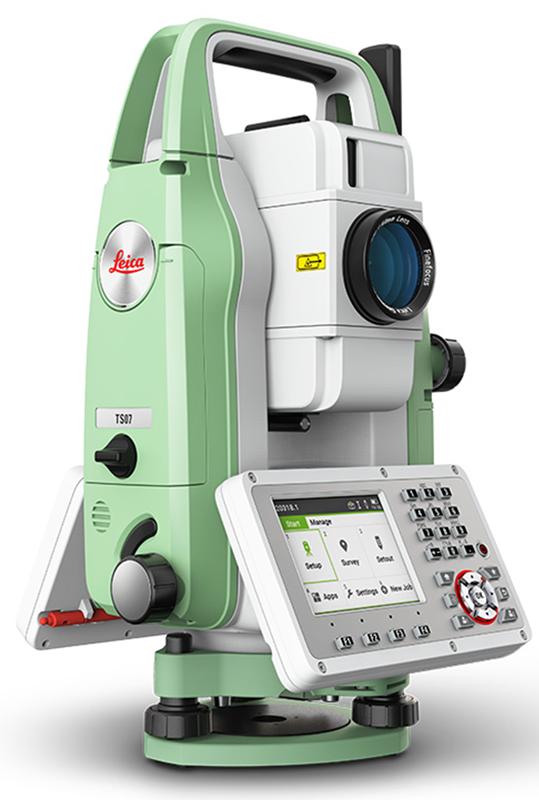 กล้อง TOTAL STATION  ยี่ห้อ Leica รุ่น TS06 plus กล้องสำรวจอิเล็กทรอนิกส์  ชนิดวัดระยะทางได้โดยไม่ใช้เป้าสะท้อน    1. ระบบกล้องส่อง (Telescope)        1.1  มีกำลังขยายไม่น้อยกว่า  30 เท่า       1.2  ขนาดเส้นผ่าศูนย์กลางของเลนส์ปากกล้องไม่น้อยกว่า 40 มิลลิเมตร       1.3  ขนาดความกว้างของภาพ 1 องศา 30 ลิปดา หรือ ไม่น้อยกว่า 27 เมตร ที่ระยะ 1,000 เมตร       1.4  ระยะมองเห็นภาพชัดใกล้สุดไม่เกิน 1.7 เมตร           1.5  ส่องหัวหมุดด้วยเลเซอร์ ( LaserPlummet ) ระยะ 1.5 มม. ถึง 1.5 เมตร           1.6  มีระบบให้แสงสว่างสายใยกล้องภายใน ที่สามารถปรับแสงสว่างได้ตามต้องการ           1.7  มีจุดเลเซอร์ชี้เป้าเพื่อความสะดวกในการเล็งที่หมาย           1.8  กล้องส่องหัวหมุดเป็นระบบเลเซอร์ (Laser Plummet)  2. ระบบวัดมุม ( Angle Measurement )     2.1  ค่าความละเอียดในการแสดงผล 1 ฟิลิปดา    2.2  ค่าความถูกต้องแนวราบและแนวดิ่งไม่เกิน 5 ฟิลิปดา     2.3  ใช้ระบบวัดมุมแบบ  Absolute Encorder     2.4  มีระบบชดเชยค่ามุมอัตโนมัติ ชนิด  Quadruple Axis  มีช่วงการทำงาน ±1.5 ฟิลิปดา     2.5 มีระบบการปรับส่ายกล้องเป็นแบบฝืด (Endless Clamp)  3. การวัดระยะทาง ( Distant Measurement )     3.1  สามารถวัดระยะโดยไม่ต้องใช้เป้าปริซึม ( Reflectiveless ) ได้ไกลไม่น้อยกว่า 500 เมตร     3.2  สามารถวัดระยะได้ 3,500 เมตร โดยใช้ปริซึ่ม 1 ดวง     3.3  ค่าเบี่ยงเบนมาตรฐานโดยใช้ปริซึม ไม่เกิน ± (2 +2 ppm x D)mm.     3.4  แสดงค่าการวัดได้ละเอียด 1 มิลลิเมตร     3.5  ความเร็วในการวัดระยะทางแบบละเอียดไม่เกิน 1.0 วินาที  4. ระบบบันทึกข้อมูลและโปรแกรม     4.1  เครื่องมี Memory ภายในสามารถบันทึกข้อมูลได้    -  ไม่น้อยกว่า 100,000 Fixpoints  -  ไม่น้อยกว่า   60,000 Measurement   4.2  สามารถโอนถ่ายข้อมูลจากตัวกล้องไปยังเครื่องคอมพิวเตอร์ได้ 3 ทาง -  สายส่งข้อมูล Serial port   -  usb thumb drive และ Mini USB   -  bluetooth wireless    4.3  โปรแกรมงานสำรวจต่างๆ     -  การรังวัดมุม,การรังวัดระยะทาง,การรังวัดค่าพิกัดเป็น 3 แกน  -  กำหนดค่า Azimuth                     -  การบันทึกค่าพิกัด (Surveying)                    -  กำหนดตำแหน่งที่ต้องการ (Stakeout) -  หาระยะระหว่าง 2 จุด (Tie Distance) -  การคำนวณพื้นที่ Area (Plan & Surfac