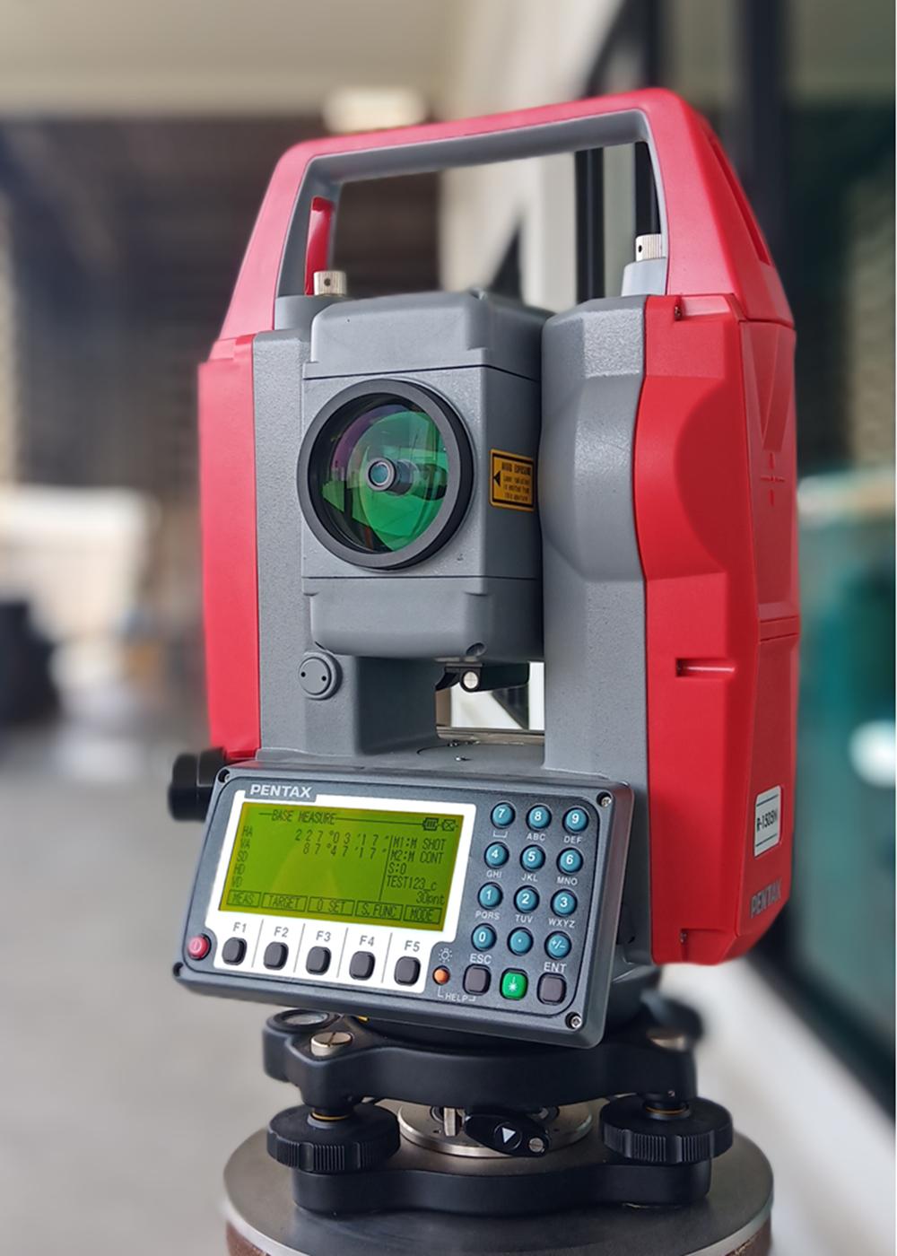 กล้อง TOTAL STATION  ยี่ห้อ PENTAX รุ่น R-1505N กล้อง Total Station,จำหน่ายกล้องTotal Station มือ1,กล้องTotal Station วัดระยะทางได้,กล้อง Total Station วัดระยะแบบอ่านค่าพิกัดได้,จำหน่ายกล้องTotal Station แบรนด์ดัง โทร. 086-0862000