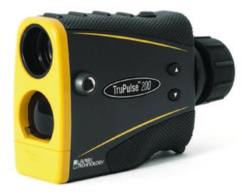 กล้องวัดระยะ ( Laser Rangefinder ) ยี่ห้อ LASER TECHNOLOGY รุ่น TRUPULSE 200 ผลิตภัณฑ์มาตราฐานประเทศ สหรัฐอเมริกา  1. กล้องเล็ง     1.1 ภาพที่มองเห็นต้องเป็นภาพหัวตั้งตรง     1.2 กล้องส่องมีกำลังขยาย 7 เท่า     1.3 ลักษณะคล้ายกล้องส่องทางไกลโดยทั่วไป 2. ระบบวัดระยะทาง     2.1 ความถูกต้องในการวัดระยะทาง ±0.3 เมตร     2.2 แสดงผลการวัดระยะละเอียดถึง 0.1 เมตร     2.3 วัดระยะทางโดยไม่ต้องใช้เป้าปริซึมได้ไกลประมาณ 1,000 เมตร     2.4 ความถูกต้องของมุม ±0.25° ช่วงการวัดมุม ±90°     2.5 แสดงค่าหน่วยการวัดเป็น หน่วยเมตร ฟุต และหลา      2.6 สามารถวัดระยะได้และแสดงค่าระยะทางลาด(SD) ระยะทางแนวนอน (HD)  ระยะทางตั้ง (VD)           ความสูง(HT) และแสดงค่ามุมเอียง     2.7 สามารถวัดความสูงต้นไม้หรือวัดความสูงวัตถุอื่นๆ          ตามต้องการได้     2.8 แสดงผลการวัดระยะเป็นตัวเลข ภายในกล้องส่อง     2.9 แบตเตอรี่ที่ให้พลังงาน สามารถหาซื้อได้โดยทั่วไปในท้องตลาด