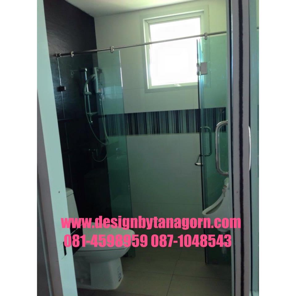 กระจกกั้นห้องอาบน้ำ,กระจกห้องน้ำ