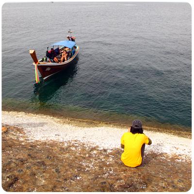 เรือฟ้าใส  สำรวจเกาะปูเลา