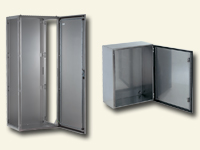 Stainless-steel enclosures