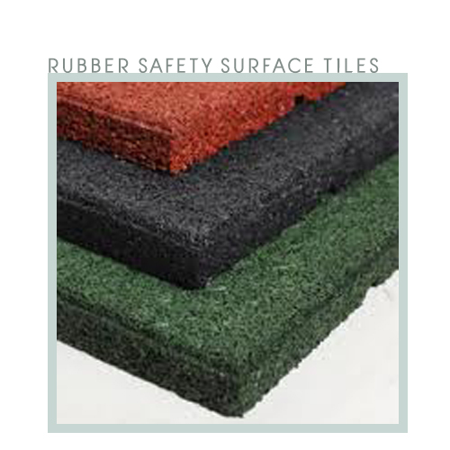Rubber Safety Surface Tiles Floorament กระเบื้องยางฟลอราเมนท์