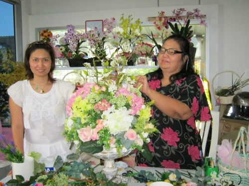จำหน่ายดอกไม้ผ้า ดอกไม้ประดิษฐ์ จำหน่ายดอกไม้ประดิษฐ์ สอนจัดดอกไม้ ปลอม