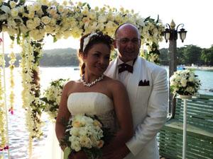 งานแต่งงานบนเกะเสม็ด