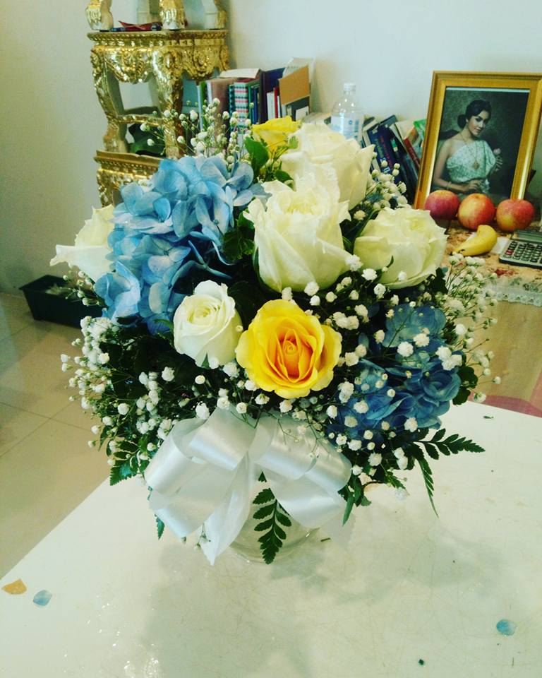 แจกันดดอกไม้ บริการจัดส่ง
