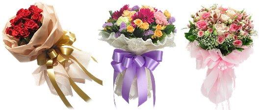 ช่อดอกไม้วาเลนไทน์ 2555