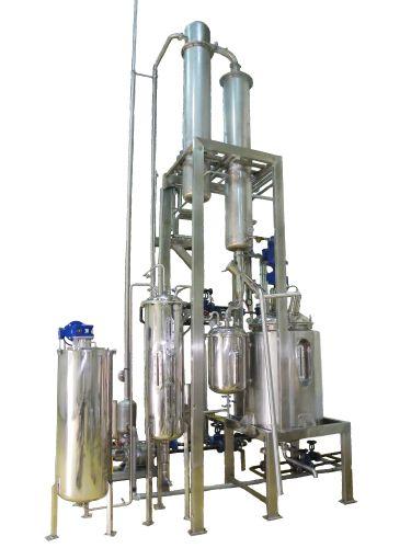 Alcohol Vacuum Evaporator & Recovery 200 - 3,000 L.