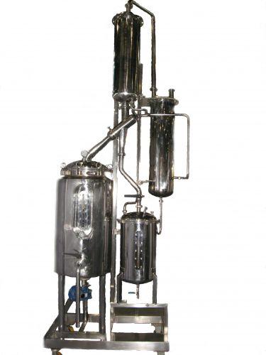Alcohol Vacuum Evaporator & Recovery 50 - 150 L.