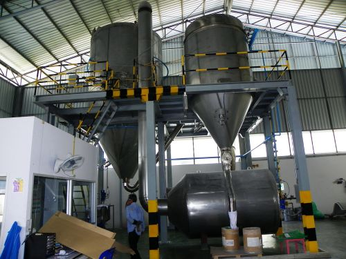 Spray dryer : 220 LPH.