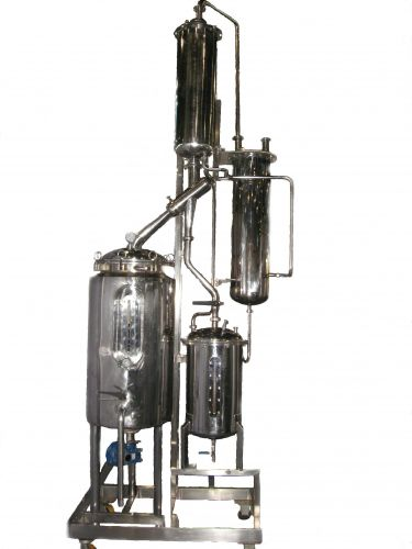 Alcohol Vacuum Evaporator & Recovery