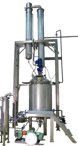 Alcohol Extractor with Reflux