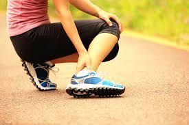 เจ็บ ข้อเท้าด้านนอก เท้าพลิก  เท้าแพลง  รักษา  ข้อเท้า