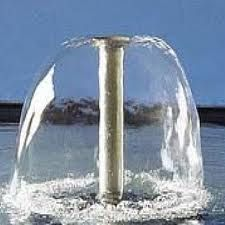 Lawa nozzle fountain
