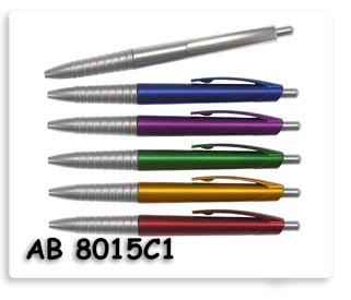 ปากกาลูกลื่นพลาสติก  ปากกาพรีเมี่ยมสกรีนโลโก้ข้อความ