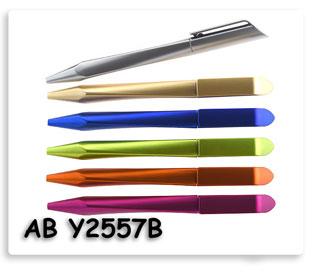 ขายปากกาพลาสติก แบบหมุนปิดเปิด พร้อมสกรีนโลโก้ ปากกาพรีเมี่ยม สินค้าพรีเมี่ยม