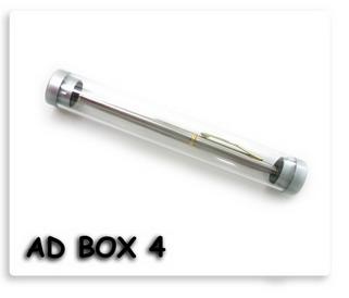 หลอดใส่ปากกา พลาสติก ดูทันสมัย แปลกตา เหมาะสำหรับใช้เป็นใส่ปากกาที่เป็นของพรีเมี่ยม