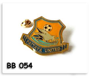 เข็มกลัดโลหะ Pattaya United FC.
