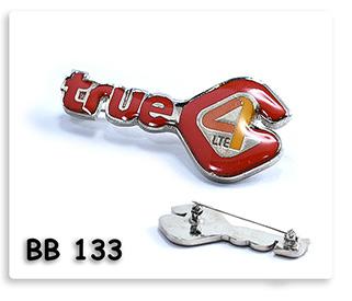 Pin เข็มกลัดโลหะ ชุบเงิน ลงสี ไดคัท เคลือบเรซิน TRUE 4G LTE  เข็มโลหะ เข็มกลัด ของพรีเมี่ยม ของชำร่วย ของที่ระลึก ของแจก ของแถม ของขวัญ ของแจกปีใหม่ ของขวัญวันเกิดพนักงาน  ของแจกพนักงาน ของแจกลูกค้า สินค้าพรีเมี่ยม ของแจกงานเกษียณ