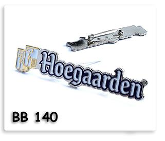 Pin เข็มกลัดโลหะ ชุบเงินนิคเกิล ลงสี ไดคัท Hoegaarden เข็มโลหะ เข็มกลัด ของพรีเมี่ยม ของชำร่วย ของที่ระลึก ของแจก ของแถม ของขวัญ ของแจกปีใหม่ ของขวัญวันเกิดพนักงาน  ของแจกพนักงาน ของแจกลูกค้า สินค้าพรีเมี่ยม ของแจกงานเกษียณ