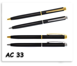 ปากกาโลหะ ของพรีเมี่ยมอย่างดีพร้อมสกรีนข้อความ