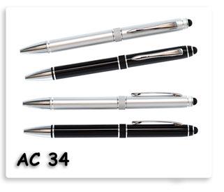 ปากกาโลหะ พร้อมทัชสกรีนหน้าจอมือถือได้ในตัว ของพรีเมี่ยมอย่างดีพร้อมสกรีนข้อความ