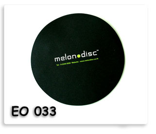 mouse pad melon disc