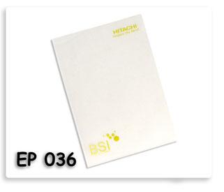 แฟ้มสอดพิมพ์สกรีน  1 สี Hitachi