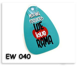 ที่ติดกระจกรถยนต์ We love RAMA