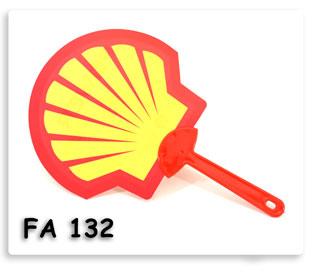 พัดพลาสติค Shell พิมพ์ออฟเซ็ต4สี ไดคัลตามแบบ