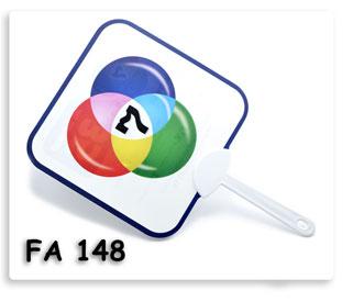 พัดพลาสติก Ch.7 HD พิมพ์สี่สี ออฟเซต ของพรีเมี่ยมสั่งผลิต