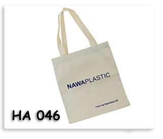 กระเป๋าผ้าดิบ NAWA Plastic