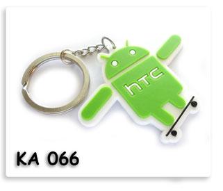 พวงกุญแจยาง HTC android