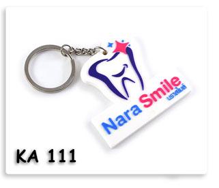 พวงกุญแจยางหยอด Nara Smile