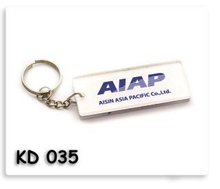 พวงกุญแจอะคลีลิค AIAP Aisin Asia Pacific co.,ltd. พวงกุญแจ ของพรีเมี่ยม ของชำร่วย ของที่ระลึก ของแจก ของแถม ของขวัญ ของแจกปีใหม่ ของขวัญวันเกิดพนักงาน  ของแจกพนักงาน ของแจกลูกค้า สินค้าพรีเมี่ยม ของแจกงานเกษียณ ของชำร่วยงานขึ้นบ้านใหม่