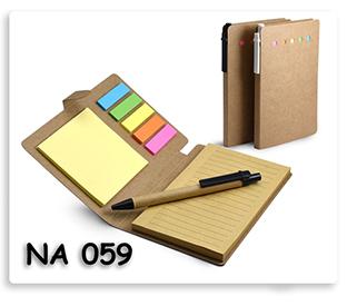 สมุดโน้ต กระดาษโน้ต พร้อม โพสอิท และปากกา กระดาษรีไซเคิล