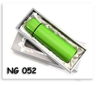 ชุดกี๊ฟเซตกระติกน้ำร้อน (เขียว) พร้อมกล่องหน้าต่างบุผ้าซาตินสวยงาม ของพรีเมี่ยมพร้อมสกรีนโลโก้