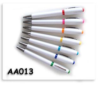 ปากกาพลาสติก สกรีนโลโก้