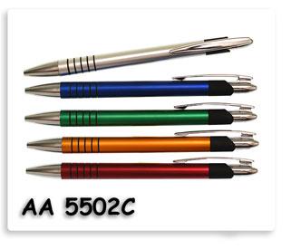 ปากกาพลาสติก ปากกาลูกลื่น ปากกาสกรีนโลโก้ ของพรีเมี่ยม พร้อมส่งฟรี