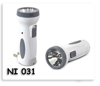 ไฟฉายชาร์จไฟ หลอด LED  ของพรีเมี่ยมพร้อมสกรีนพร้อมส่ง