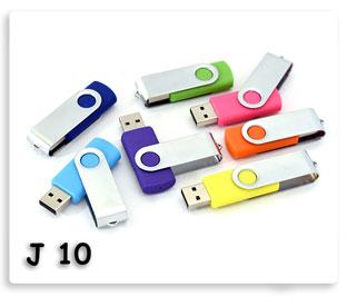 แฟลชไดร์ฟพกพาโลหะผสมพลาสติกสีสวย Flash Drive USB JumpDrive ทรัมป์ไดร์ฟ ของพรีเมี่ยมสกรีนโลโก้