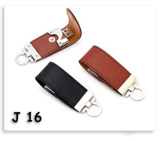 แฟลชไดร์ฟพวงกุญแจหนังสีดำ,น้ำตาล Flash Drive USB JumpDrive ทรัมป์ไดร์ฟ ของพรีเมี่ยมสกรีนโลโก้